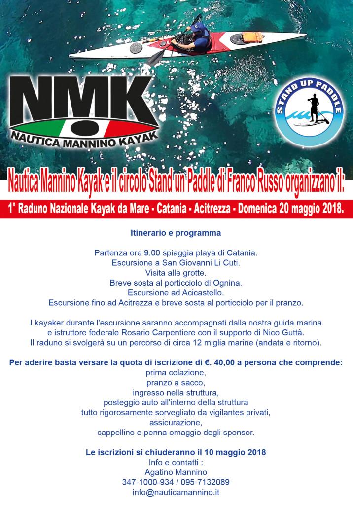 Raduno Nautica Mannino Kayak - 29-01-2018